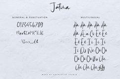 Jatina - Dynamic Signature Font Product Image 4