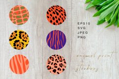 Animal Print Stickers, Animal Print Highlights Product Image 1