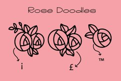 Eden Rose a Hand Lettered Font with Doodles Product Image 5