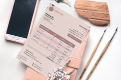 Event Styling Invoice template, 4 Styles Canva Template Product Image 3