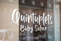 Web Font Quintuplet - Handlettered Font Product Image 4