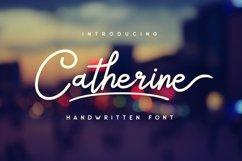 Web Font Catherine Script Product Image 1