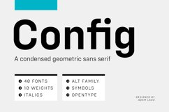 Config Complete Font Family Product Image 1