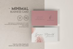 Minimal Business Card Product Image 1