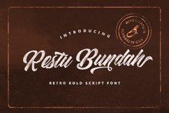 Restu Bundah - Retro Bold Script Product Image 1