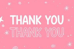 Pink Story - Cute Display Font Product Image 6