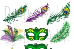 Mardi gras clipart Product Image 5