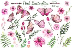 Pink Butterflies Product Image 2