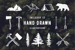 Rustic Logos & Illustrations AI PNG Product Image 4
