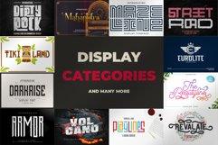 Best Seller Bundle - 174 Font!! The Complete Font Bundles! Product Image 6