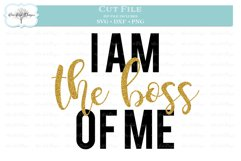I am the Boss of Me Product Image 1