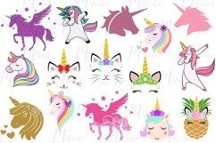 Unicorn svg bundle , unicorn Bundle, Best Seller. Product Image 3