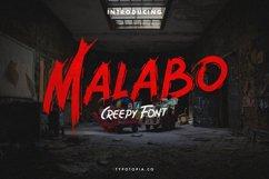 Malabo - Creepy Font Product Image 1