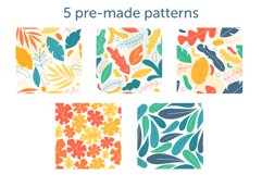 Shapes and leaves for creating patterns Product Image 3