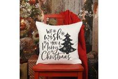 We wish you a Merry Christmas Svg, Christmas Svg, Christmas Product Image 4