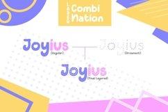 Web Font Joyius Display Product Image 2