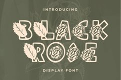 Web Font Black Rose Product Image 1