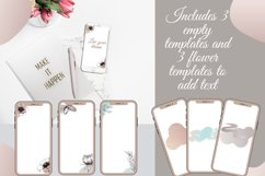 Pastel color Flower instagram highlight icons, aesthetic Product Image 4