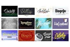 Mega Exclusive Font Bundle - 350 Font Product Image 23