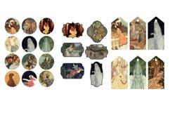 Edmund Dulac Vintage Fairy Tale Images 2 Journal Art PDF Product Image 2