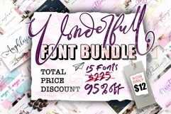 The 15 in 1 Wonderful Font Bundle Product Image 1