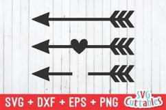 Arrow SVG | Arrow Monogram Frame Product Image 1