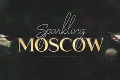 Sparkling Moscow - Font Duo Product Image 1