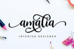 Nattasha | A Calligraphy Font Product Image 6