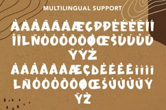 Unlucky - Display Bold Font Product Image 7