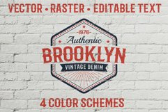 Authentic Vintage Logo Template Product Image 1