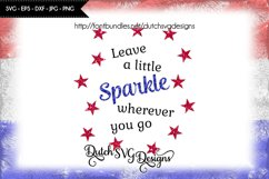 Text cutting file Sparkle with stars, sparkle svg, star svg Product Image 1