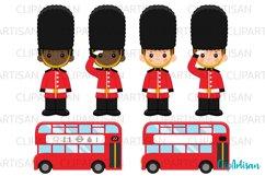 London Clipart, British Clip Art, England, Big Ben Product Image 2