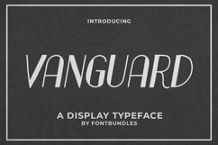 Web Font Vanguard Product Image 1