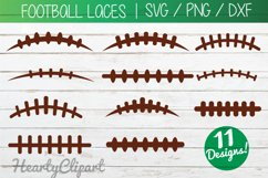 football laces svg, cutting files Product Image 1