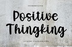 Positive Thingking Product Image 1