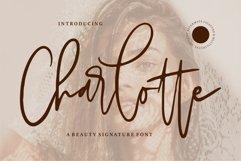 Charlotte - A Beauty Signature Font Product Image 1