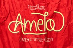 Amelo Funny & Fantasy Fonts Product Image 1