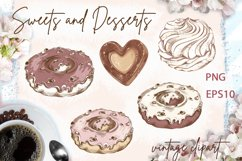 Sweets and Desserts. Mini set 1 Product Image 2