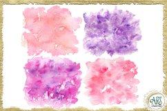 Sublimation BUNDLE Watercolor Pink Purple backgrounds PNG Product Image 2