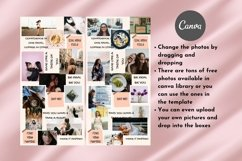 Instagram Puzzle Template Canva- Roseatte Product Image 5