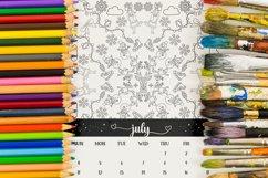 Mandala Christmas Coloring Calendar 2021 Product Image 4