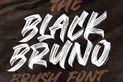 BLACK BRUNO // Brush Font Product Image 1