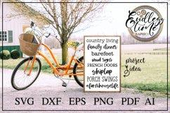 Farmhouse Bundle | 24 Rustic Farmhouse SVG Designs Product Image 3