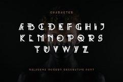 Maladewa - Decorative Font DR Product Image 3