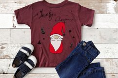 Noel Xmas SVG 04, Gnome, Merry Christmas, Kids Funny Product Image 4