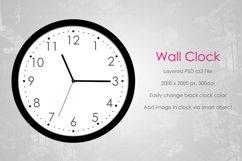 Wall Clock Mockup (Round) Product Image 1