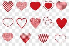 Heart SVG Bundle - Heart Shape Clip Art Product Image 2