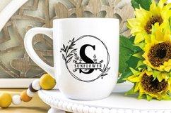 Sunflower Monogram Product Image 5