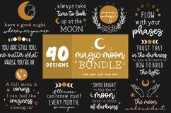 Moon Svg Bundle   Lunar Cycle Svg   Magic Svg Cut Files Product Image 3