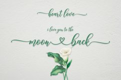 Heart Love   WEB FONT Product Image 4